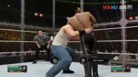 [直播回放]WWE2016年12月21日中文解说实况