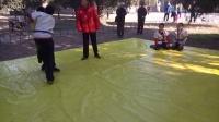 李宝如先生在天坛公园教授中国式摔跤片段(3)