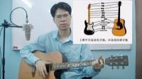 民谣吉他初级教程1吉他的分类,材质,吉他部位名称