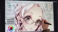 日本漫画家袁藤沖人老师优动漫视频教学