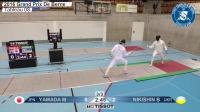 2016 瑞士伯尔尼FIE国际男重世界杯 T08 02 NIKISHIN UKR vs YAMADA JPN