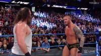 Cena塞纳强势回归,AJ斯泰尔斯战胜道夫独狼保住