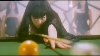 你没看过的香港经典,刘德华与妹子打台球,拼球技