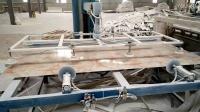 青岛睿杰塑机临沂客户仿大理石板设备生产视频