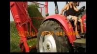 牵引式青贮饲料回收机 玉米秸秆收割粉碎机