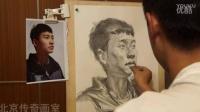 朱传奇画室151006朱传奇老师素描头像男青年示范视频2_标清