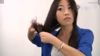 圆脸适合的卷发发型 中长发怎么盘好看 气质麻花辫盘发教程酷