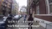这个女生穿着紧身裤被整条街的男人搭讪了