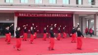 2017年老年大学庆元旦 迎新春 广场舞《语花蝶》
