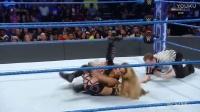 WWE Smackdown Live 2017.01.03 Carmella vs Aliyah ( Jame Ells