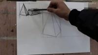 如何学素描空间几何体知识点_超级漫画素描技法_室内素描色彩入门教学