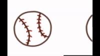 15超简单的儿童彩色简笔画——球类