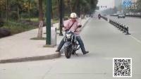 豪爵铃木GW250测评屌丝美女逛摩托车市场(中)