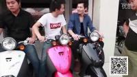 豪爵铃木GW250测评屌丝美女逛摩托车市场(下)