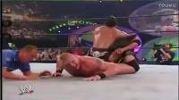 每天一次WWE经典 巨石强森VS布洛克莱斯纳 完整比