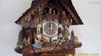 【蜂鸟钟咕咕窝】德国汉尼诗品牌黑森林布谷鸟机械挂钟HO 86752T