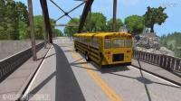 BeamNG模拟校车碰撞