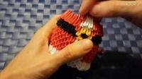 3D折纸教程 圣诞老人制作