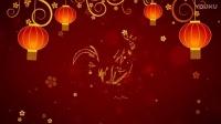 2017红色喜庆大红色灯笼金鸡贺岁迎新年片头动画工程文件AE模板