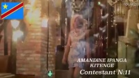 NEWS:1st VIDEO AMANDINE KITENGE FROM DR.CONGO CONTESTANT N:11 LIVING IN WUHAN