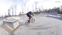 BMX RIDING ON SNOW SUCKS