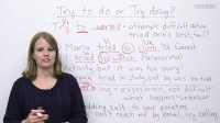 English Grammar - try to do or try doing