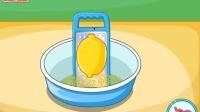 海绵宝宝柠檬蛋糕