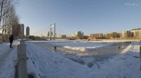 xiaoyi小蚁运动相机延时摄影 冬日滑冰