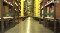 亚马逊仓库全程机器人配货,科技感十足