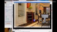 室内设计-餐厅酒柜立面图(3)-潭州室内设计家装(零)基础课程视频全集