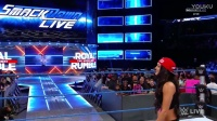 WWE Smackdown Live 2017.01.17 Nikki Bella attacks Natalya at