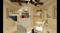 扬州华建ART上院美式风格装修效果图-扬州一号家居网