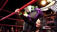 TNA白色女金刚到处作战无敌手啊,来独立联盟把