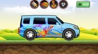 挖土机表演大全 汽车玩具视频 工程车 推土机  挖土机 汽车总动员动画片