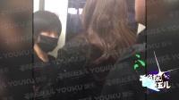 现场:唐嫣飞上海录制春晚  无人接机刷卡搭地铁显亲民