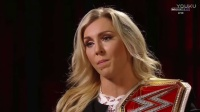 WWE RAW 2017.01.23 Charlotte Interview!