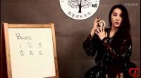 台湾肚皮舞美女老师闻子仪指拔教学系列01 指拔的带法
