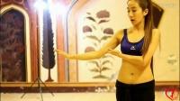 台湾部落融合风格美女老师闻子仪肚皮舞入门教学视频01蛇手训练