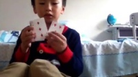 lD五张牌花切式猜牌魔术教学