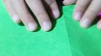折纸 蝴蝶结信封