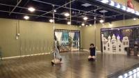 环球港热舞舞蹈钢管舞表演班