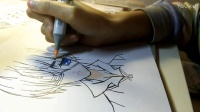 【KIKI的手残绘画之路】之夏尔,又画毁惹上色毁一切ww我从图片上看头发是绿色的,毕竟没学过ww记得来看直播哦