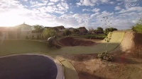 Matt Beringer's New Backyard BMX Setup