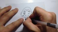 简笔画.卡通人物的画法(超清)