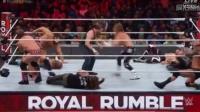 2017WWE皇家大战:兰迪·奥顿大放RKO,布洛克