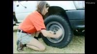 车陷进坑里怎么办,加上这个副轮圈轻松解决