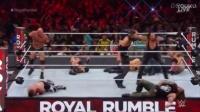 WWE2017年1月30日 PPV《皇家大战》送葬者VS高柏Gol