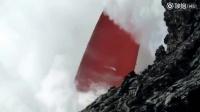 """一股被称为""""firehose""""的红色岩浆流"""