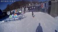 大年初五帽儿山单板滑雪