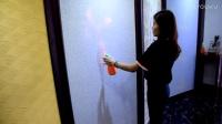 北疆硅藻泥防火实验
